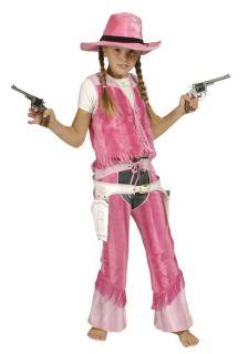 COWGIRL rosa Kostüm Mädchen Cowboy supersüß 116 NEU