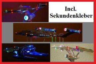 Enterprise 1701 D 11400 AMT 656 STAR TREK Beleuchtung Kit