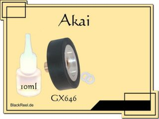 Akai GX 646 GX646 Service Kit 5 Tonband Tape Recorder