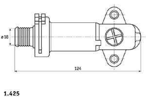BMW 5er E39 E60 E61 Diesel AGR Thermostat Markenqualität