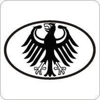 Bundesadler BMW Adler Auto Aufkleber Tattoo VW BMW