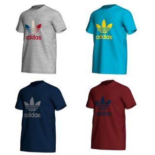 Adidas Herren T Shirt Adi Trefoil Tee Shirt 5203