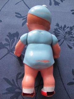 Celluloid Püppchen Puppe von Schildkröt, 50 er Jahre, Kopf und Beine
