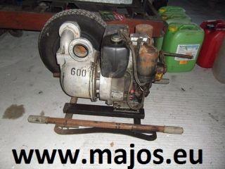 Mast Pumpe NP 8 D mit Hatz Diesel E 672