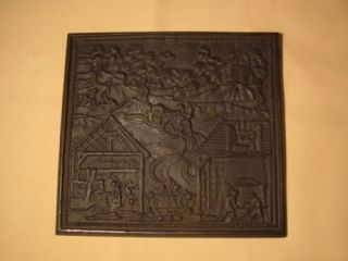A658/ Buderus Eisenguss Relief Ora et Labora