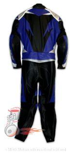 Büse Lederkombi TT Pro blau schwarz silber Größe L   42 Damenkombi