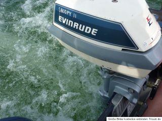 Evinrude 4PS Aussenborder Motor BJ 1985, funktionsfähig, 2 Takt, OK