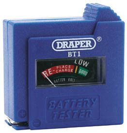 Draper Dry Cell Battery Tester incl Free Delivery(DRA72090)