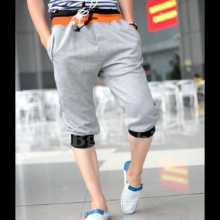 XXL Mens Casual Baggy Shorts Pants Jogging Plain Knee Length Sport