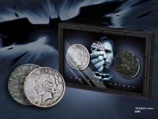 Batman The Dark Knight Replik Harvey Dent & Two Face Münzen