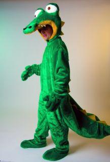 Krokodilkostüm Maskottchen Krokodil Drachen Kostüm