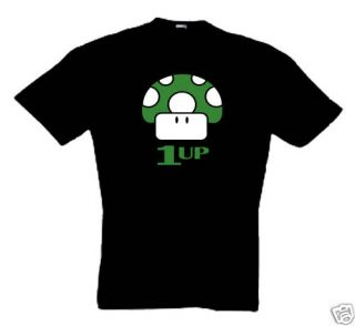 Up Super Mario T Shirt S XXL Retro, Kult, Nintendo