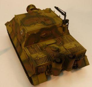 Deutscher RW61 Sturmmörser Tiger gebaut / German WWII Tank Sturmtiger