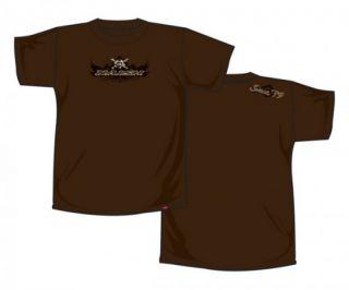 Naish T Shirt Skull   Brown