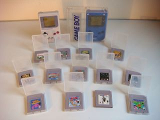 Nintendo Gameboy Classic Konsole + 13 Spiele Kirby Space Invaders