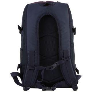Chiemsee Solid School Backpack Rucksack 49 cm Laptopfach black iris