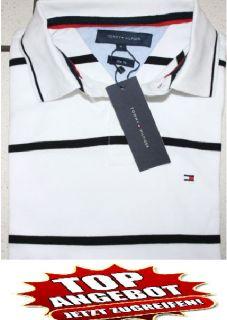 NEU Tommy Hilfiger Polo Shirt S M L XL XXL Gestreift Pullover Hemd