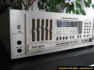Marantz SR 8100 DC CompuTuner Stereo Receiver   reparaturbedürftig