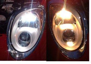 LAMPADE T20 W21/5W 7443 DGEAR BIANCO PER FIAT 500 PUNTO EVO ALFA
