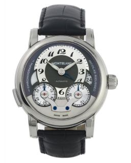 Brand New Montblanc Star Nicolas Rieussec Monopusher Chronograph Watch