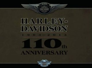 Harley Davidson Jacke 110th Anniversary Limited Nylon Jacke L NEU