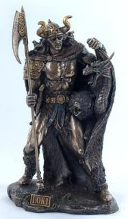 Odin auf Sleipnir v. Derek W Frost Sammelfigur ,bronziert Wodan