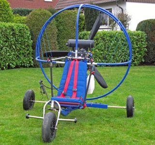 Triostar Motorschirm Trike mit ParaZoom 4 Takt Antrieb