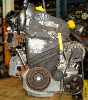 Motor RENAULT KANGOO 1,5DCI 60KW MotocodK9K710 K9K702 & Bj.04