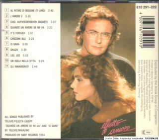 AL BANO & ROMINA POWER    EFFETTO AMORE    CD m. ITS FOREVER