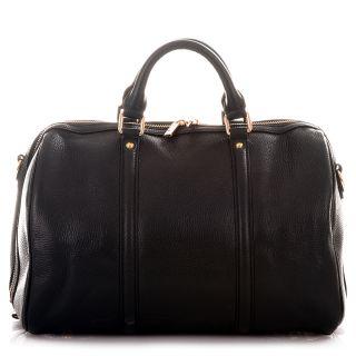 ROUVEN Schwarz FIRST BOSTON ICONE Tote Bag Damen Leder Handtasche