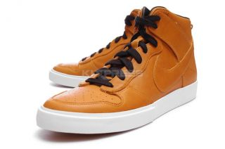 Nike Dunk High AC [398263 701] Leather Deconstrusted Pack Bronze/Black