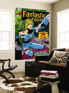 Fantastic Four #245 Cover Invisible Woman Crouching Wall Mural by John Byrne