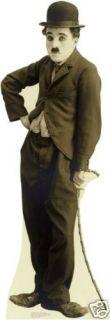 712 Charlie Chaplin Pappaufsteller Amerika Lebensgroß