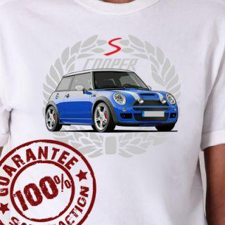 Mini Cooper S T Shirt All Sizes #705