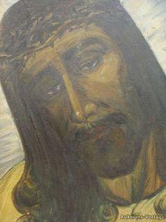 JOSEF SCHIFFMACHER *1888 °PORTRAIT JESUSUS MIT DORNENKRONE ZUM