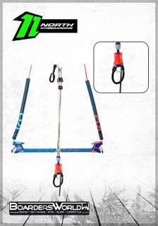 NORTH Kite TRUST BAR Quad Control blue limited Edition 24 m
