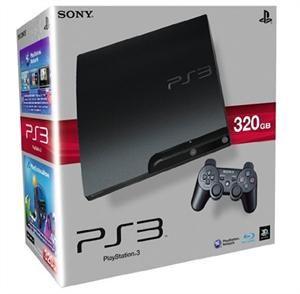 Sony PlayStation 3   Konsole Slim 320GB (K Model) inkl. Dual Shock 3