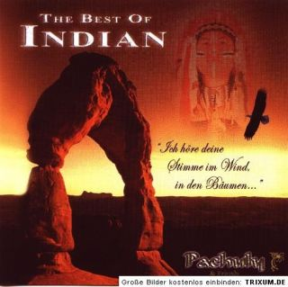 CD Pachuly The Best of INDIAN. Indianer Musik Panflöte Entspannung