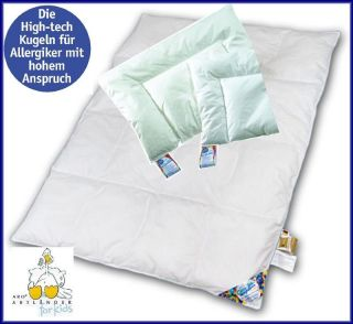 ARO Artländer Kinder Baby Bettdecken Set CosySan Steppbett 100x135