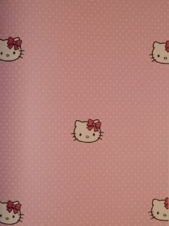 custom pink polka dot hello kitty birthday invitations card. Black Bedroom Furniture Sets. Home Design Ideas