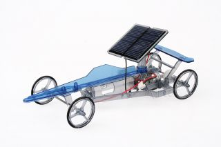 Solar Auto Speedy Car Bausatz Modellauto Solarauto Experimentieren und