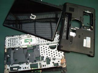 Gehäuse Reste von HP / Compaq Presario CQ60 ~LESEN~