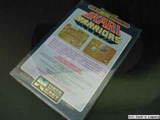 NEW & SEALED Ikari Warriors DATA EAST Commodore 64 Disk C64 C128 Game