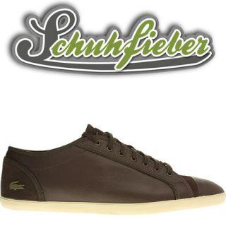 Lacoste Berber 3 SRM LTH   Schuhe Sneaker   Black/Brown 723SRM3379