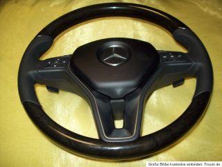 Lenkrad Holzlenkrad Mercedes Benz C CLS E R M W204 W172 W212 W218 DSG