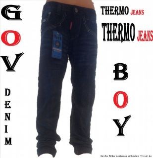 Thermo~Jeans~GUV boy~ Jungen~Winter~ 2012/13~Jeans~Gr. ~122/128 bis