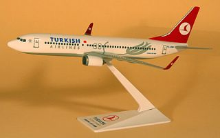 Turkish Airlines Boeing 737 800 1:200 FlugzeugModell NEU