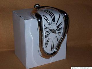 Uhr Kantenuhr Kantensitzer Salvador Dali schmelzende Uhr
