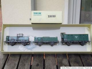 Trix 23535 Güterwagenset Württemberg Ep.1 in OVP, mit KKK ein sehr