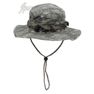 US COMBAT RIPSTOP ARMY BOONIE BUSH JUNGLE SUN HAT CAP